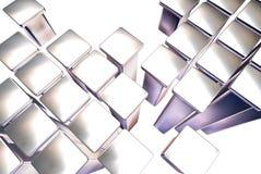 cubes 3d Photographie stock