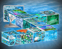 cubes Image libre de droits