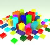 cubes Photos libres de droits