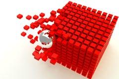 cubes photo libre de droits