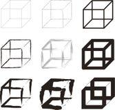 Cubes illustration stock
