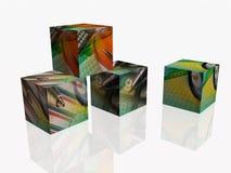 Cubes Royalty Free Stock Photos