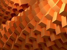 Cubes abstract Royalty Free Stock Photography