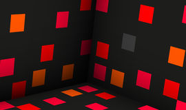 Cubes abstract background illustr Royalty Free Stock Photo