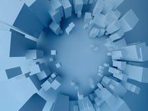 Cubes (abstrait) Image libre de droits