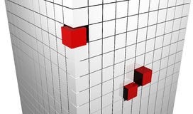Cubes abstraits Photo stock