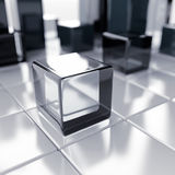 Cubes abstraits Images stock