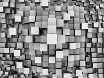 Cubes Background Stock Photo