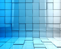 Cubes background Royalty Free Stock Images