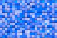Cubes bleus Image libre de droits