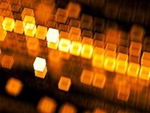 Cubes brouillés par résumé - image digitalement produite photo libre de droits