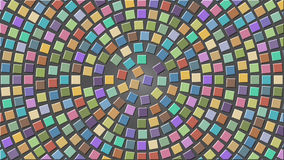 Cubes in a circle Royalty Free Stock Photo