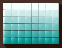 Cubes colored background Royalty Free Stock Photos