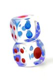 Cubes for Craps Royalty Free Stock Image