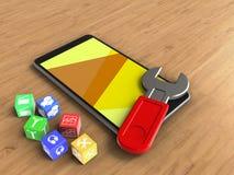cubes 3D Images libres de droits