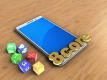 cubes 3D Photo libre de droits