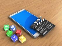 cubes 3D Photographie stock libre de droits