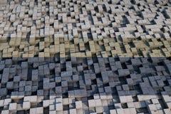 cubes 3d avec une texture grunge Image libre de droits