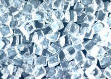 Cubes de glace Photos stock