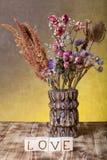 Cubes en bois avec l'inscription Photo libre de droits