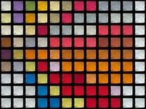 Cubes en couleur Images stock