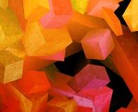 Cubes en cristal illustration libre de droits