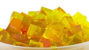 Cubes en gelée Image libre de droits