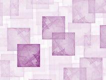 Cubes en Hollyhock Photos stock