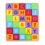 Cubes en jouet photographie stock