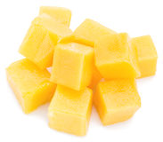 Cubes en mangue photographie stock