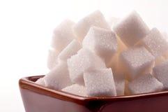 Cubes en sucre Photos libres de droits
