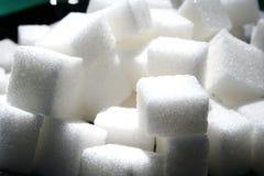 Cubes en sucre Image stock
