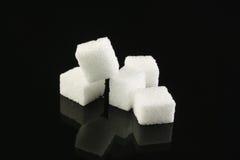 Cubes en sucre photo stock