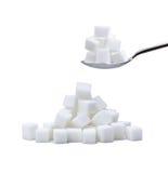 Cubes en sucre Image libre de droits