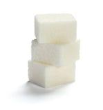 Cubes en sucre Photographie stock libre de droits