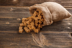 Cubes en sucre Images libres de droits