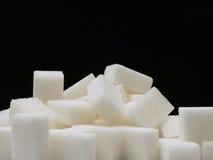Cubes en sucre Images stock