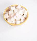 Cubes en sucre - chemin photos stock