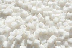 Cubes en sucre raffiné image libre de droits