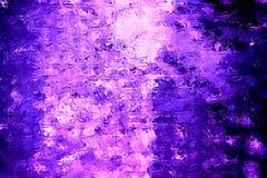 Cubes en verre pourpres rougeoyants Images libres de droits