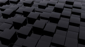 Cubes foncés Image stock