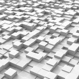 Cubes forming a grunge background Royalty Free Stock Image
