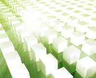 Cubes grid background Royalty Free Stock Photos