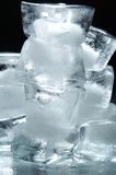 Cubes of ice Stock Photos