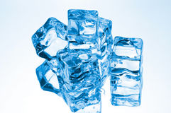 Cubes of ice Stock Image