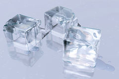 Cubes ice Royalty Free Stock Photography