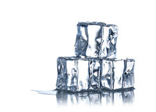 Cubes of ice Stock Photography