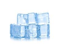 Cubes of ice Stock Photos