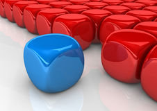 Cubes Integration Stock Image
