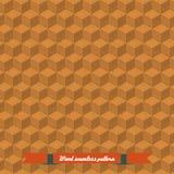 Cubes isométriques en brique de jeu réglés Photo libre de droits